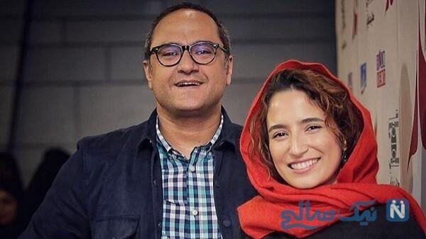 رامبد جوان بازیگر ایرانی و همسرش