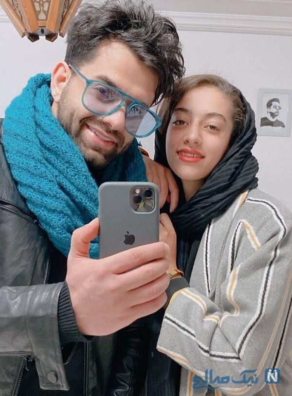 خواهر خواننده ایرانی