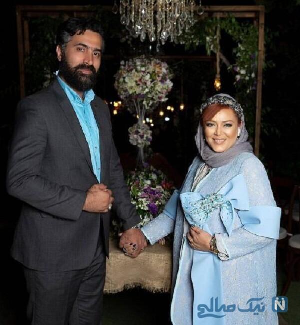 عکس عاشقانه بهاره رهنما و همسرش امیرخسرو عباسی