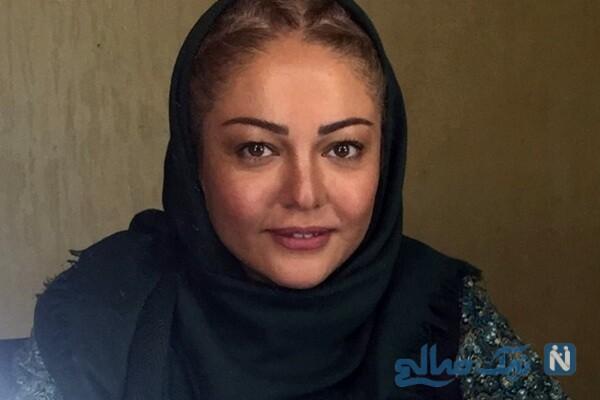 تیپ قاجاری رزیتا غفاری بازیگر معروف برای فیلم جدیدش
