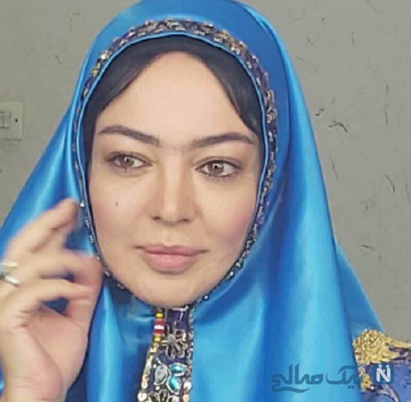 تیپ قاجاری رزیتا غفاری