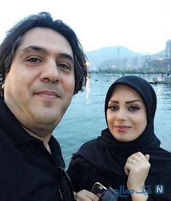 عکس عاشقانه صبا راد و همسرش