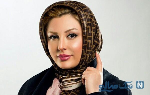 سلفی یلدایی نیوشا ضیغمی بازیگر خوش استایل سینمای ایران