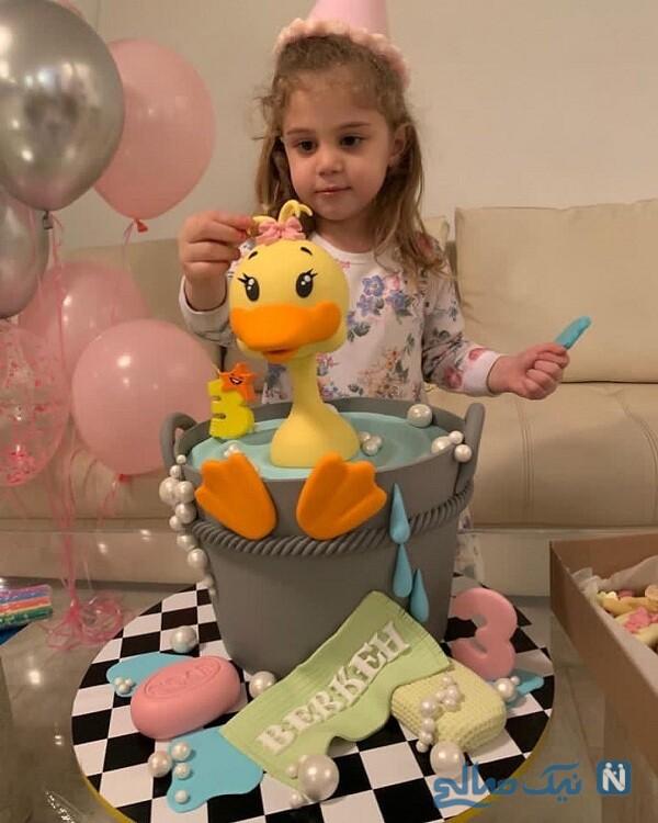 جشن تولد دختر سام درخشانی
