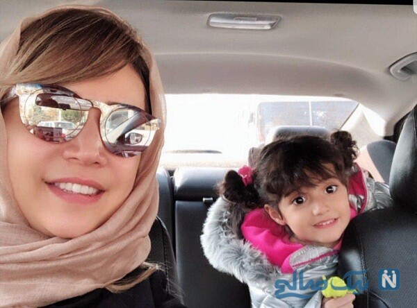 عکس شبنم قلی خانی و دخترش شانا