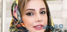 تیپ جدید شبنم قلی خانی بازیگر سریال مانکن در برگ ریزان پاییزی