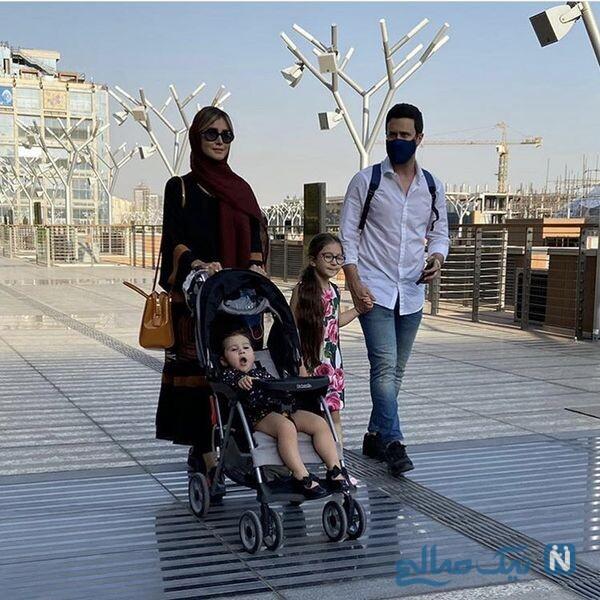عکس جدید شاهرخ استخری و خانواده اش