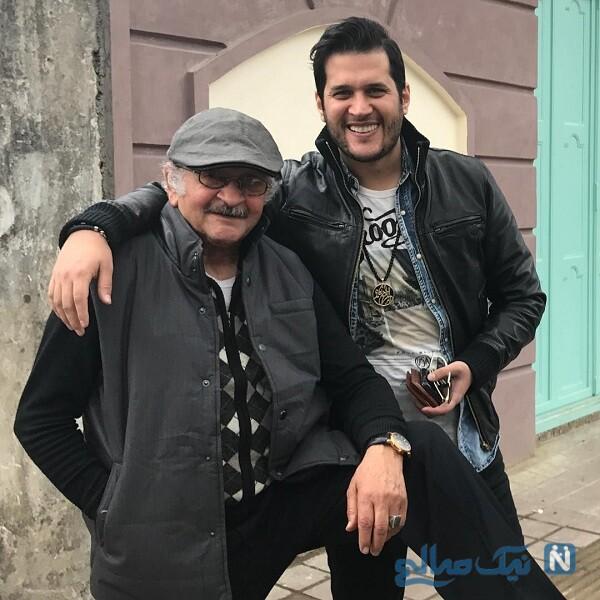 پدر سیاوش خیرابی بازیگر