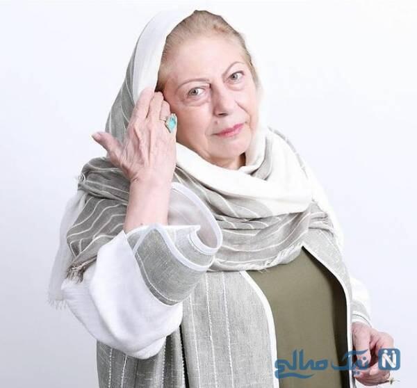 جشن تولد خاص ثریا قاسمی در پشت صحنه سریال بچه مهندس ۴