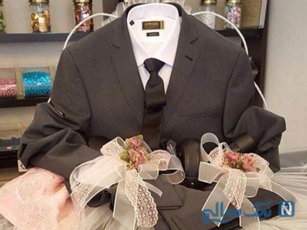 هدیه عجیبی که مادر عروس به دامادش داد را ببینید!