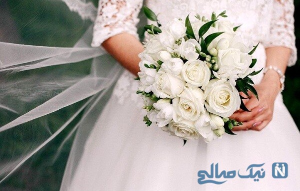 مراسم عروسی عجیب یک زوج عاشق در روزهای کرونایی