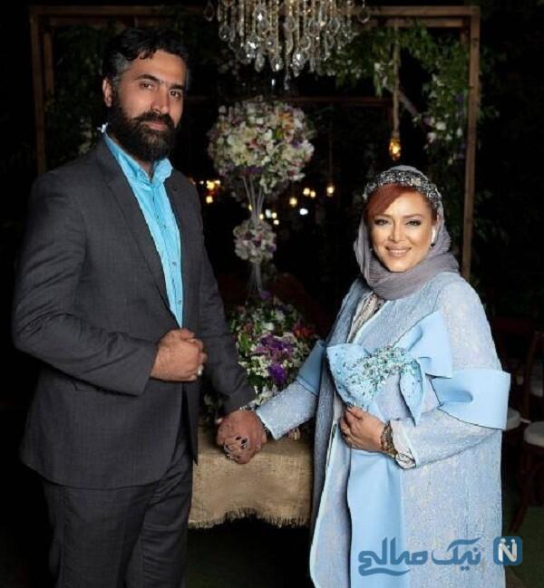 جدیدترین عکس بهاره رهنما و همسرش امیرخسرو