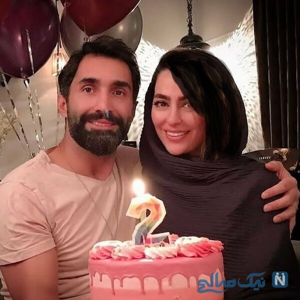 دومین سالگرد ازدواج هادی کاظمی و همسرش