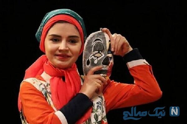 درگذشت تینا عبدی بازیگر سریال آنام در جوانی + فیلم