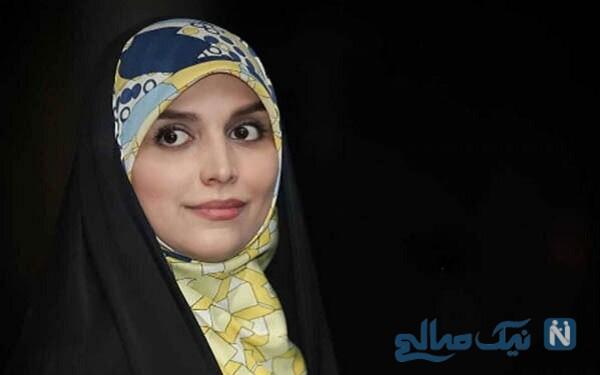 گردش شبانه مژده لواسانی مجری معروف و باحجاب تلویزیون