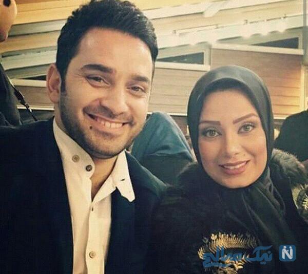 صبا راد مجری تلویزیون و همسر سابقش
