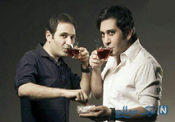 تصویری از وحید شیخ زاده و برادرش
