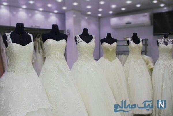 عجیب اما واقعی , مانکن مومیایی شده در ویترین فروشگاه لباس عروس