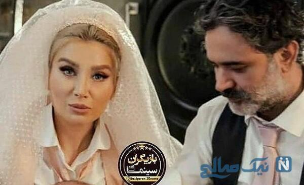 عمار تفتی و همسرش