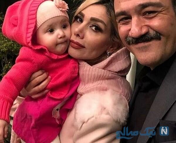 همسر و دختر مهران غفوریان بازیگر