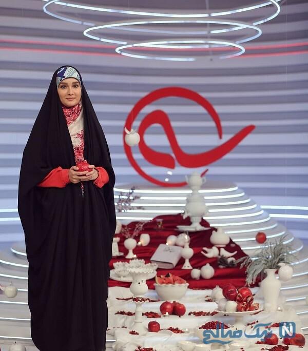 مجری زن در شب یلدا