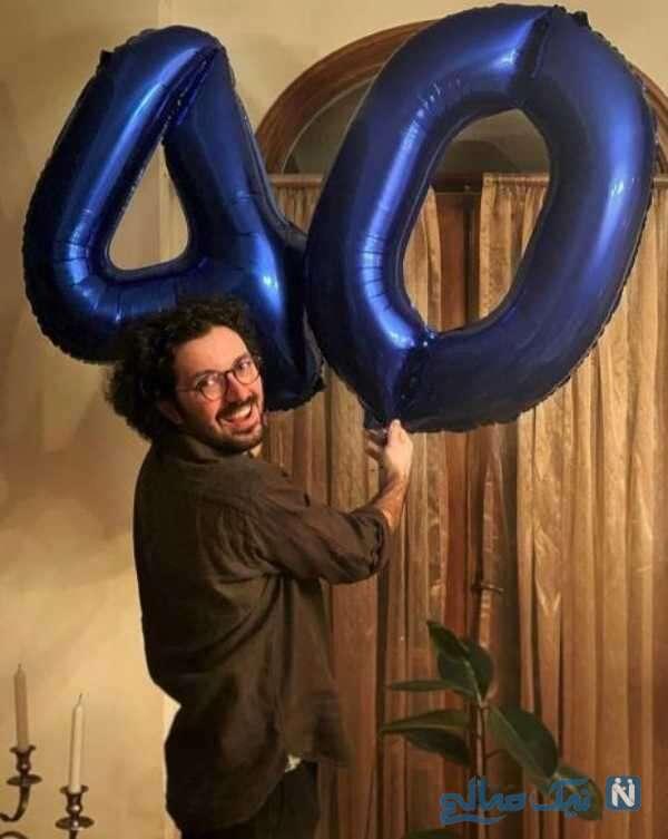 جشن تولد هومن بهمنش