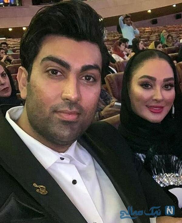 ماجرای آشنایی الهام حمیدی و همسرش