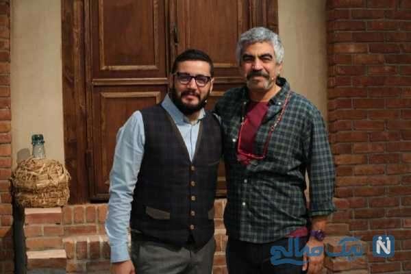 مهران رنجبر بازیگر معروف و سروش صحت