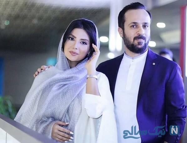 احمد مهرانفر بازیگر پایتخت و همسرش