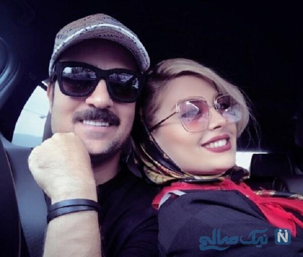 احمد مهرانفر و همسرش