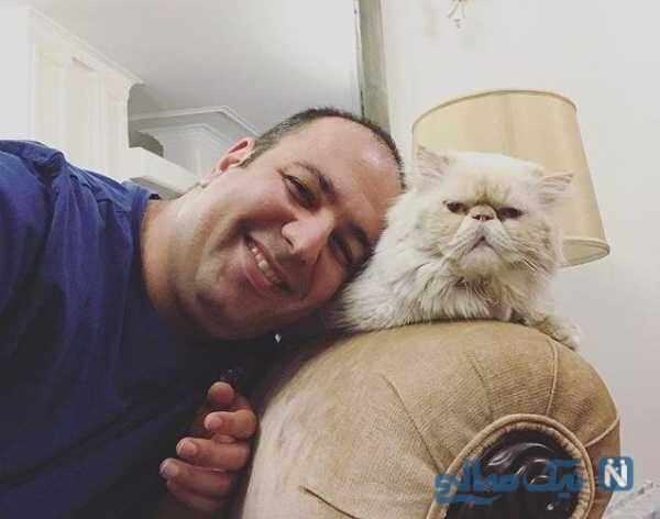 گربه علی اوجی در خانه