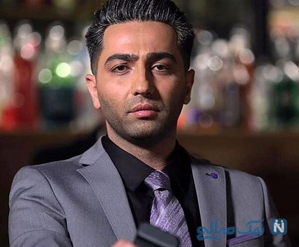 تصویری از علی سخنگو در سریال دل