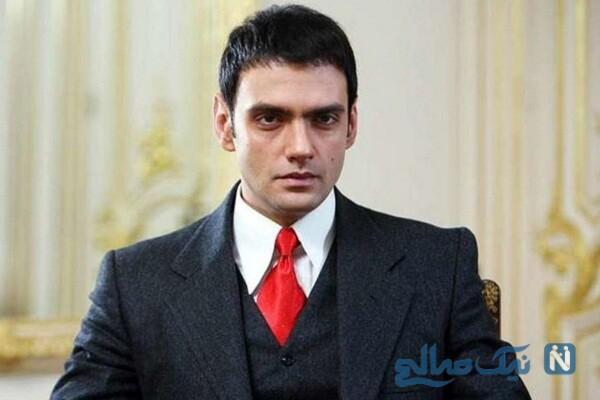 سلفی جالب امیر علی دانایی بازیگر فیلم بی وزنی در ماشین لوکس اش