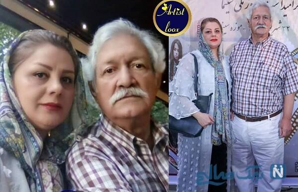 همسر جوان آتش تقی پور
