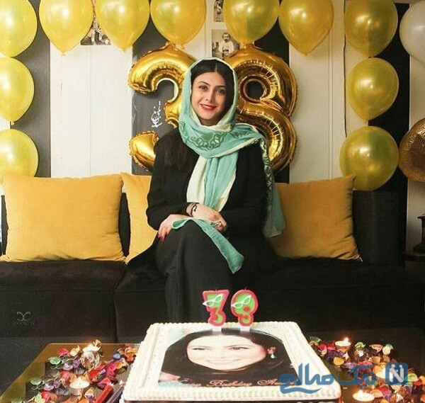 جشن تولد آزاده صمدی