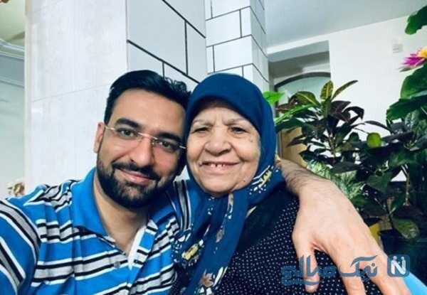 تصویری جالب از مادر آذری جهرمی