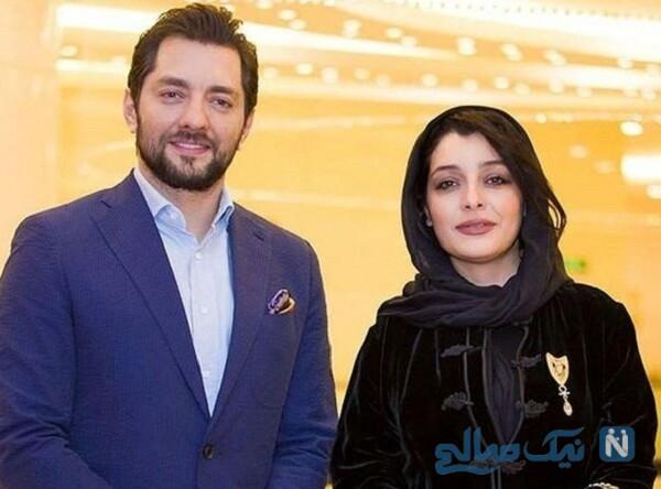 بهرام رادان بازیگر سینما و ساره بیات