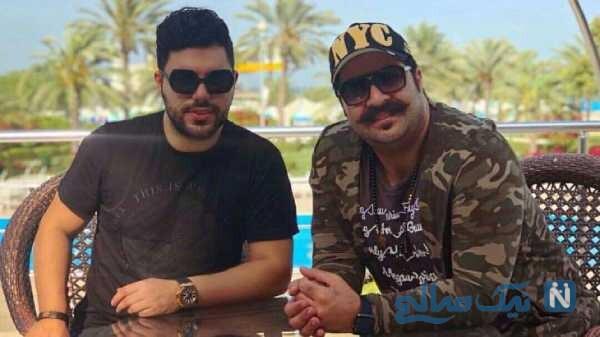 تصویری از بهنام بانی و حامد برادران