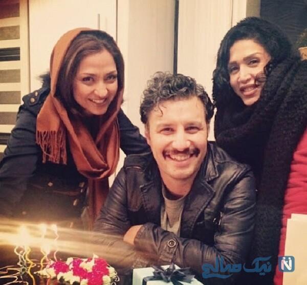 جشن تولد جواد عزتی