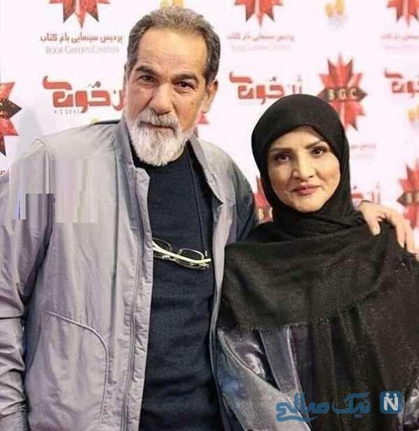 سعید سهیلی و همسرش