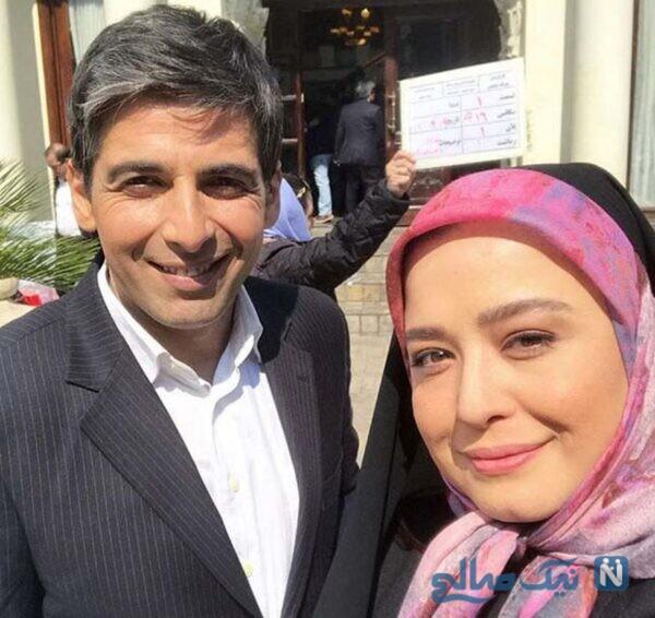 مهراوه شریفی نیا و بازیگر معروف