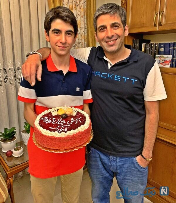 حمید گودرزی در تولد برادرش