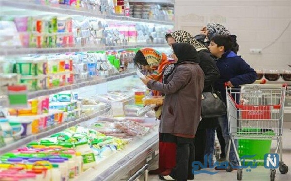 برخورد تند مامور تعزیرات با یک فروشگاه زنجیره ای متخلف در تهران