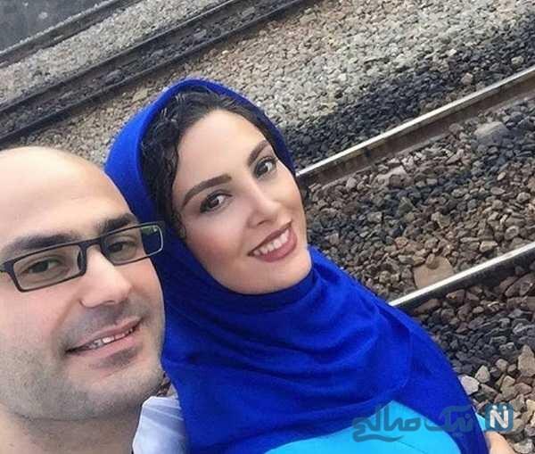چالش های حدیثه تهرانی و همسرش کیان مقدم