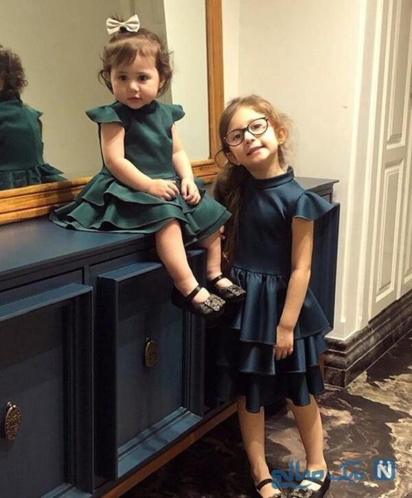 ست لباس فرزندان شاهرخ استخری