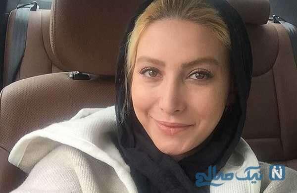 درآوردن روسری فریبا نادری توسط خواهرزاده اش در لایو جدید خانم بازیگر