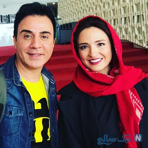 گلاره عباسی و عمو پورنگ