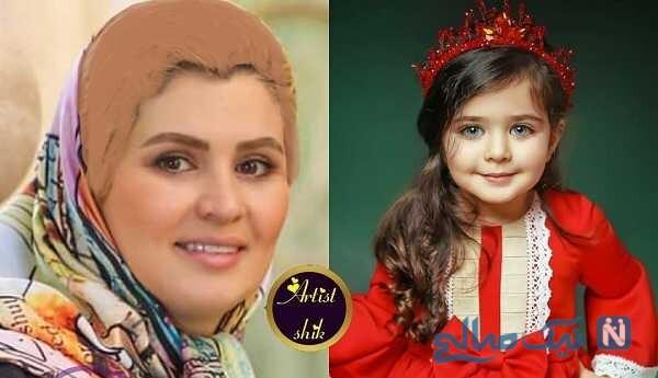 نوه محمود پاک نیت و مادرش