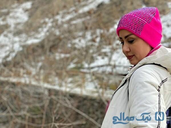 استایل زمستانی مریم وطن پور