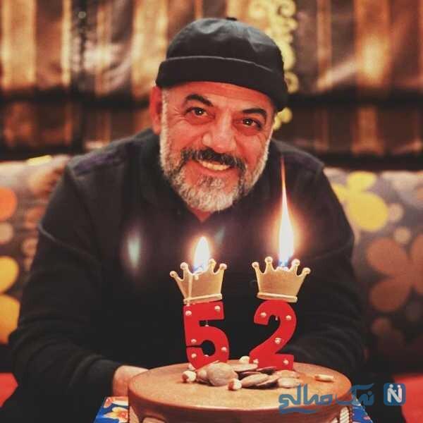 تولد 52 سالگی جواد افشار
